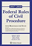 img - for Federal Rules of Civil Procedure: 2017-2018 Statutory Supplement with Resources for Study (Supplements) book / textbook / text book