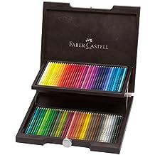Faber Castell Polychromos Artist Pencils, 72 Colors, Wood Case (japan import)