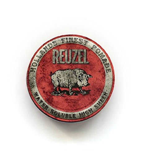 Reuzel red pomade-water soluble 4oz 102