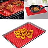 Silicone Non-stick Healthy Cooking Baking Mat with Pyramid Surface-16 Inches X 11.5 Inches