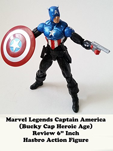 Review: Marvel Legends Captain America (Bucky Cap Heroic Age) Review 6