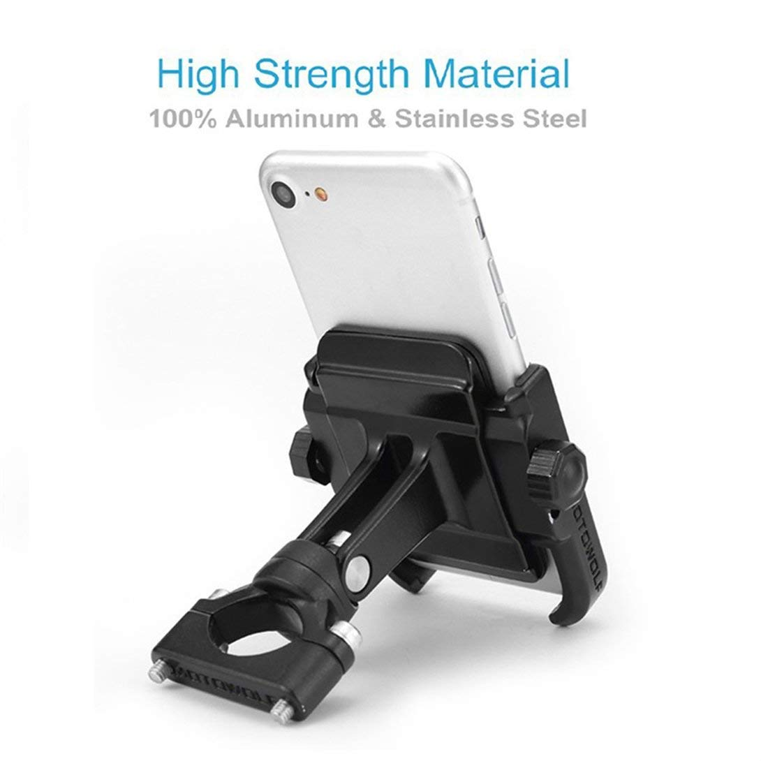 Swiftswan Universal Bike Bicycle Handlebar Stand Mount Holder For Mobile Cell Phone