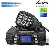 LUITON LT-598UV 75W VHF 55W UHF Dual Band Quad Standby Colorful Screen Compact Car Transceiver, Mobile Radio