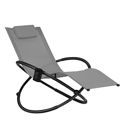 Amazon.com: Zero Gravity - Sillón plegable portátil de metal ...