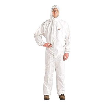 3M UU-0015-0156-6 Traje de protección, Blanco, M: Amazon.es ...