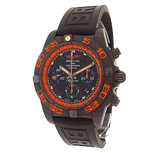 Breitling Chronomat 44 Raven automatic-self-wind mens Watch MB0111 (Certified Pre-owned)