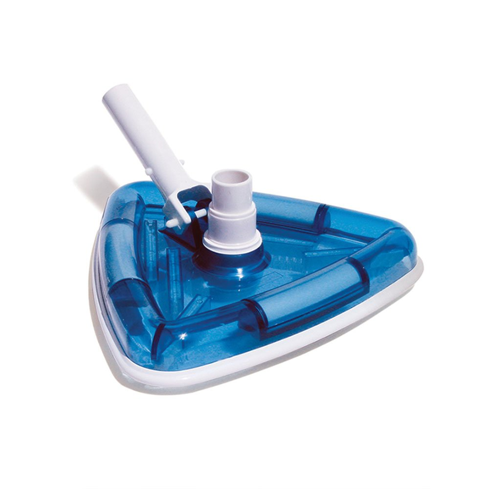 Poolmaster 27514 Clear-View Triangular Vinyl Liner Vacuum, Classic Collection - Blue