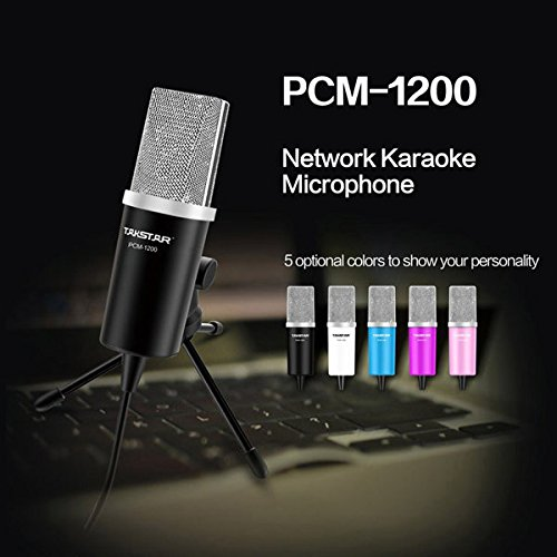 PhilMat Takstar PCM1200 Professional Microphone for KTV Computer MSN SKYPE