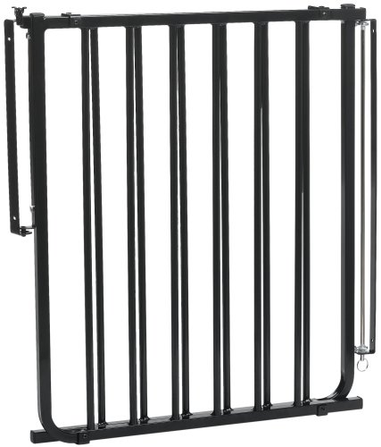 (Cardinal Pet Gates Stairway Special Pet Gate, Black, SS-30)