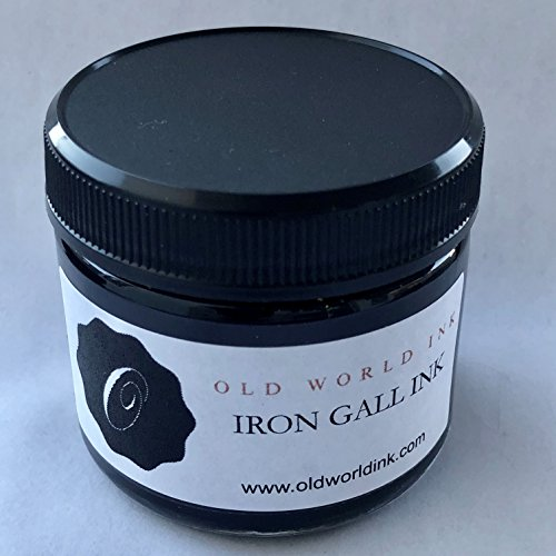 Old World Ink Iron Gall Ink (60 Ml Bottle)
