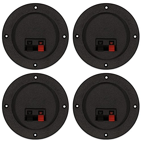 Goldwood Sound, Inc. Monitor Speaker And Subwoofer Part, Passive Crossovers 3-Way with Terminal Plates and Circuit Breakers 4 Piece Pack (XO-310-4)