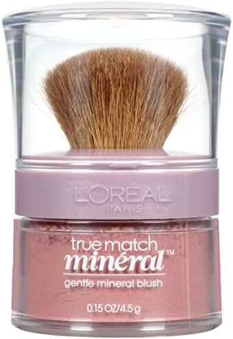 L'Oreal Paris True Match Mineral Blush, Soft Rose, 0.15 oz.