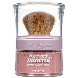L\'Oreal Paris True Match Mineral Blush, Soft Rose, 0.15 oz.