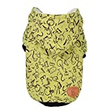 Spbamboo Pet Clothes Puppy O Neck Shirt Two-Legged Clothing With Hat Letter Coat