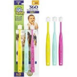 Baby Buddy 360 Toothbrush—Innovative 6-Stage Oral Care...