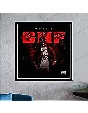 Polo G Hall Of Fame Hip Hop Rapper Muziek Album Ster Canvas Schilderij Art Foto Woonkamer Home DecorA1506 50 × 70 CM Zonder Frame