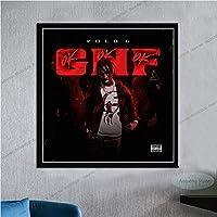 Polo G Hall Of Fame Hip Hop Rapper Muziek Album Ster Canvas Schilderij Art Foto Woonkamer Home DecorA1506 50 × 70 CM…