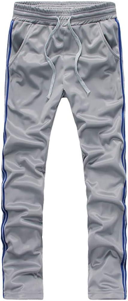 Full Zip Athletic Sweatsuit Outfit Jogger Sport Set Men 2 Piece Tracksuit Set
