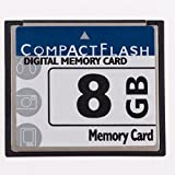 QingManGuo New 8GB Compact Flash (CF) Card Speed Up to 50MB/s Free Packaging-CF-8G Digital Camera Memory Card