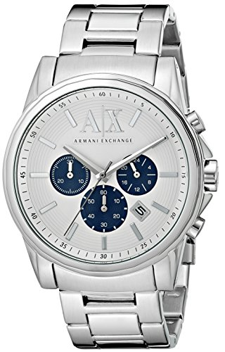 Armani Exchange Men's AX2500  Silver  Watch