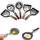 Mini Non Stick Cartoon Omelette Fry Pan Egg Frying Pan (Heart)