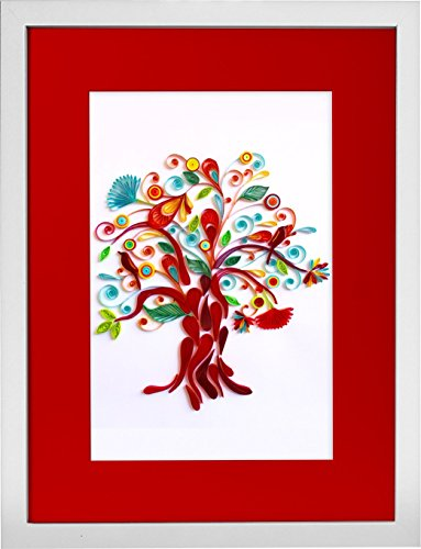 Tree of Life - Modern Paper Quilled Wall Art for Home Decor