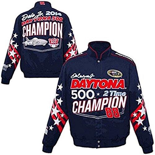 2014 Dale Earnhardt Jr. Daytona 500 Mens Twill Nascar Jacket Small