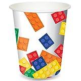 Building Block Party 9-oz Paper Cups