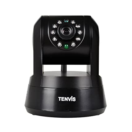 TENVIS Iprobot3 H.264 1/4 CMOS Wireless Indoor Control PTZ IP Network Camera