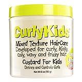CurlyKids Mixed Hair Haircare Custard for Kids, 6 Ounce