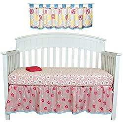 Sweet Tweet 4 Piece Floral Nursery Decor Set by Belle