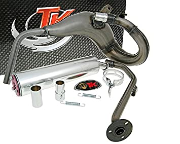 Turbo de escape Kit bufanda R - Motor Hispania RYZ 50 Am6: Amazon.es: Coche y moto