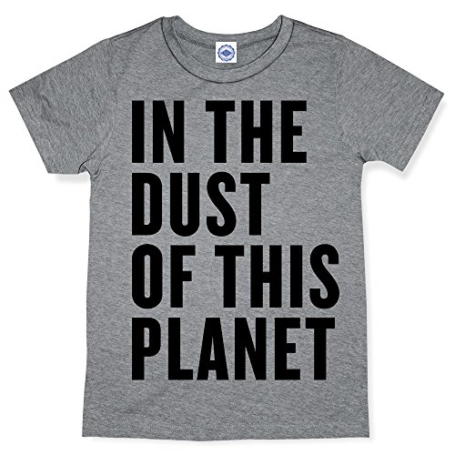 Hank Player In The Dust Of This Planet Men's T-Shirt (XL, Heather Grey)