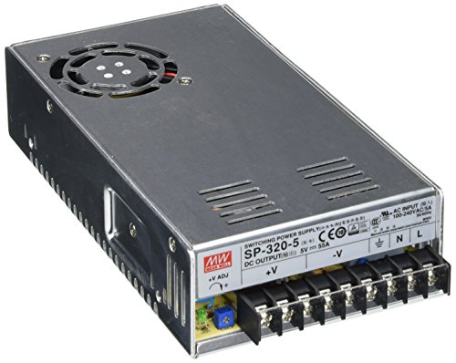 - Mean Well SP-320-5 5V 275W 55A LED Sign Power Supply