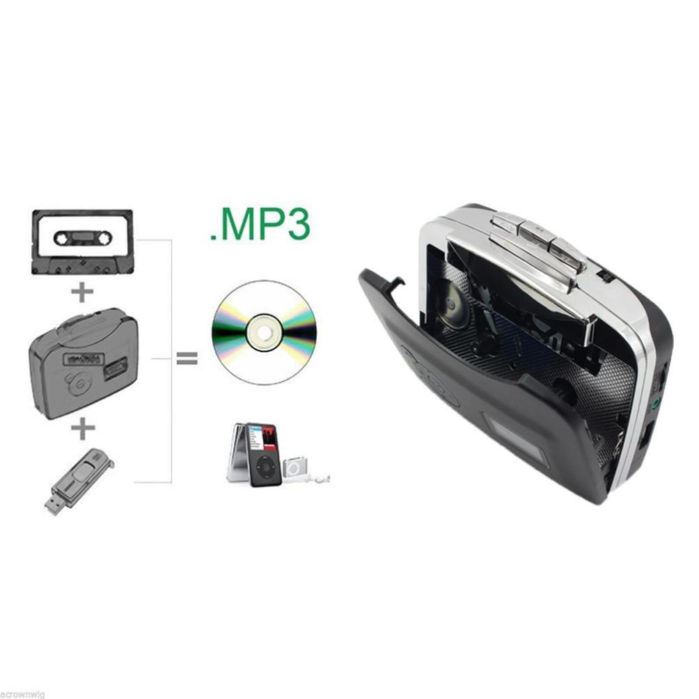 Y56 kassettenrekorder Ruban à PC USB convertisseur Cassette CD MP3Enregistrement numérique Audio Music Player 238 5656YAO