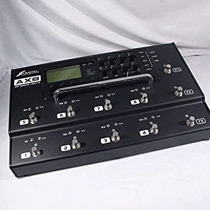 Fractal Audio AX8 Amp Modeler/Multi-FX Processor: Amazon in: Electronics
