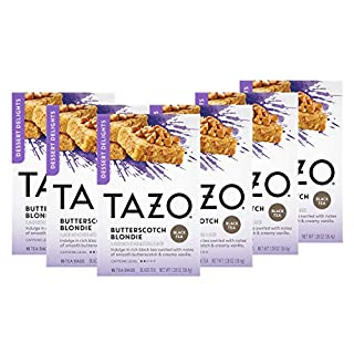 Tazo Filterbag Tea, Butterscotch Blondie, 15 Ct, Pack of 6 (Packaging may vary)