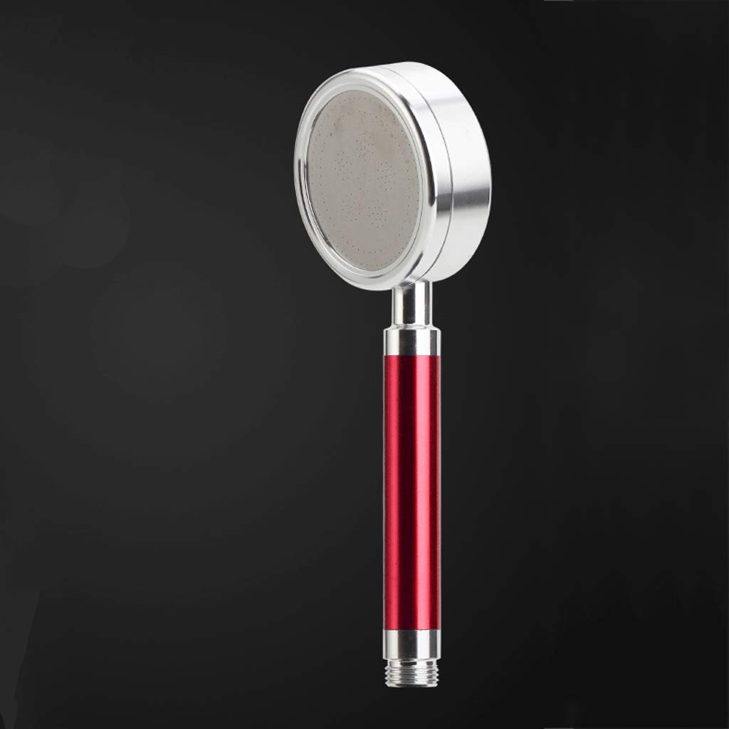ZXUE Shower Head Space Aluminum Shower Hand Shower Head Single Head Bathroom Booster Home Pressure Flower Wine Rain Easy to Wash and Wash (Color : B)