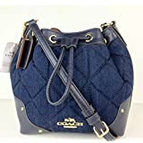 Coach Quilted DNM BBY Mickie - Denim