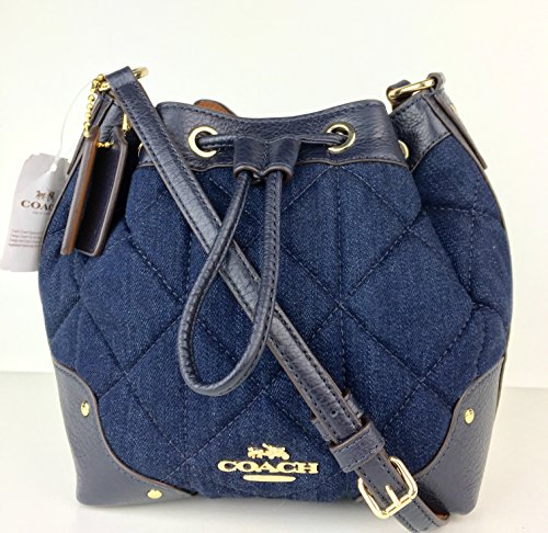 Coach Quilted DNM BBY Mickie