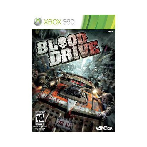 New Activision Blizzard Blood Drive Racing Game Xbox 360 ...