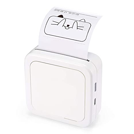 Impresora Portátil Bluetooth 4.2 Impresora De Fotos para ...