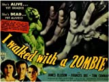 I Walked With a Zombie POSTER Movie (1943) Style A 11 x 14 Inches - 28cm x 36cm (Frances Dee)(Tom Conway)(James Ellison)(Christine Gordon)(Edith Barrett)(Darby Jones)(Sir Lancelot)