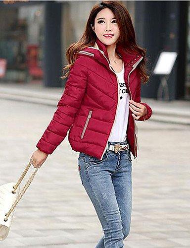 GGX/ Damenschuhe 19cm runde Zehe Stilettferse Pumpen vorhanden mehr Farben Parteischuhe Absatzhöhe sexy red-us6.5-7 / eu37 / uk4.5-5 / cn37