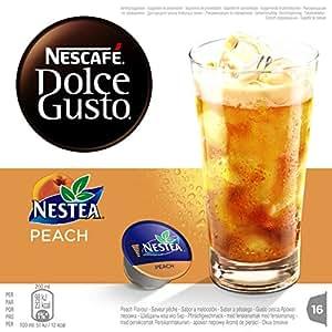 NESCAFÉ Dolce Gusto Nestea Peach Té Frío | Pack de 16 Cápsulas: Amazon.es: Amazon Pantry