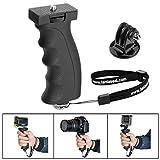 Fantaseal Ergonomic Camera Grip Camcorder Mount DSLR Camera Handheld Stabilizer Support Video Light Handle Selfie Stick for GoPro Mount Action Camera Handheld for GoPro etc (Improved Version)