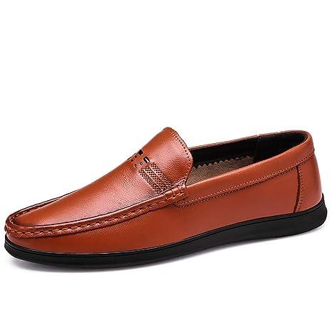 Yajie-shoes, 2018 Mocasines Zapatos para Hombre Mocasines de conducción cómodos Casuales de los