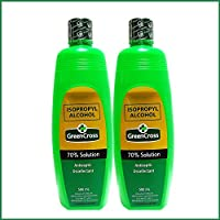 Green Cross Isopropyl Alcohol 70% 500 ml (Pack of 2)