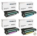 Toner Tap Compatible Set For HP LaserJet Pro 500 MFP M570dn, HP Laserjet Enterprise 500 M551dn M551n M551xh MFP575dn M575f M575c, Cartridge Number HP 507X, 507A, CE400A/X, CE401A, CE402A, CE403A