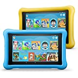 "Fire HD 8 Kids Edition Tablet 2-Pack, 8"" HD Display, 32 GB, Kid-Proof Case - Yellow/Blue"
